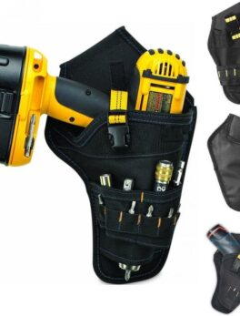 Multifunctional Tool Bags Electrician Bags For Tool 600D Oxford Cloth Pouch Bag Waist Belt Durable Hardware Organizer